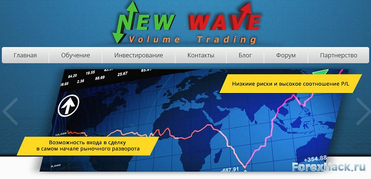 NEW WAVE + Volume Trading